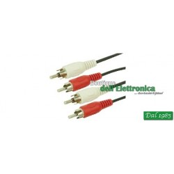 CAVO 2 SPINE RCA/2 SPINE RCA 1,5MT