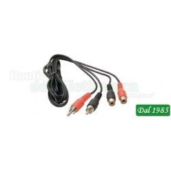 CAVO AUDIO 2 SPINE RCA / 2 PRESE RCA